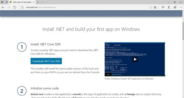 what is new in .net core 2.0