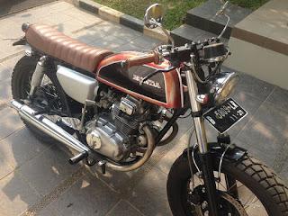 Honda CB200 Dijual Lokasi Ciputat Tangsel - TANGSEL