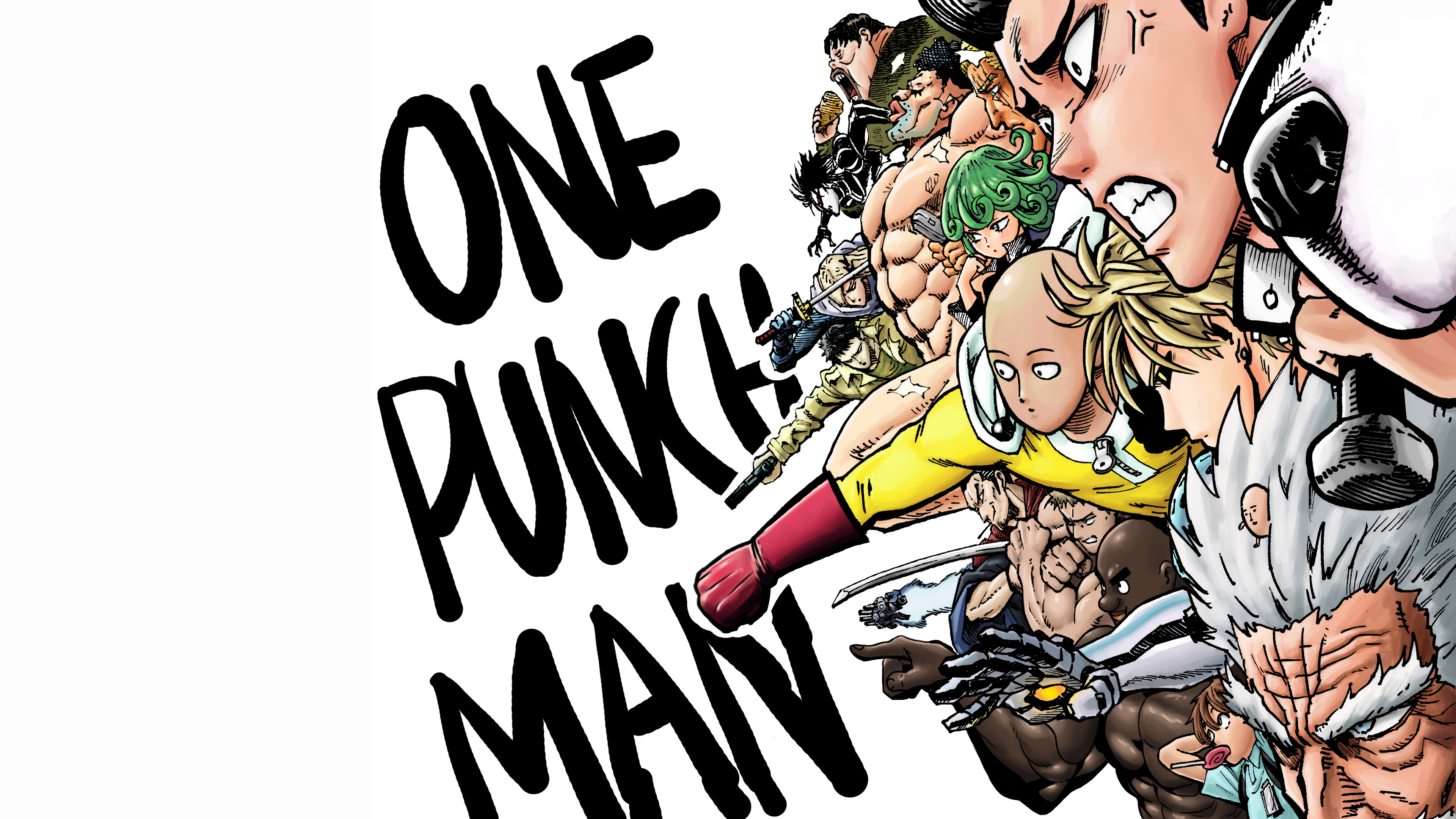 One Punch Man S Class Heroes Characters 4k Wallpaper 134