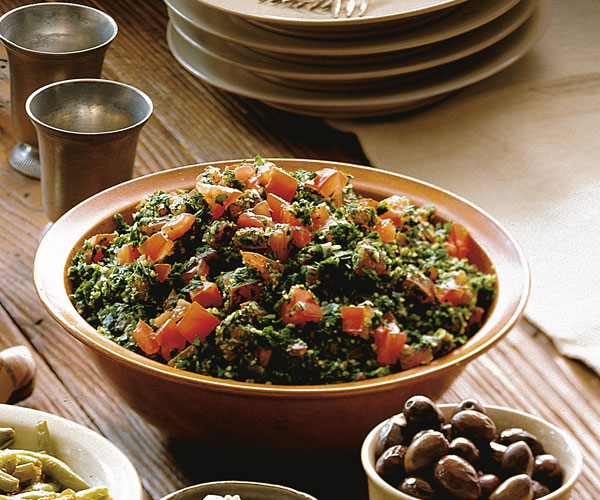 Tabbouleh (Parsley & Cracked-Wheat Salad) Recipe