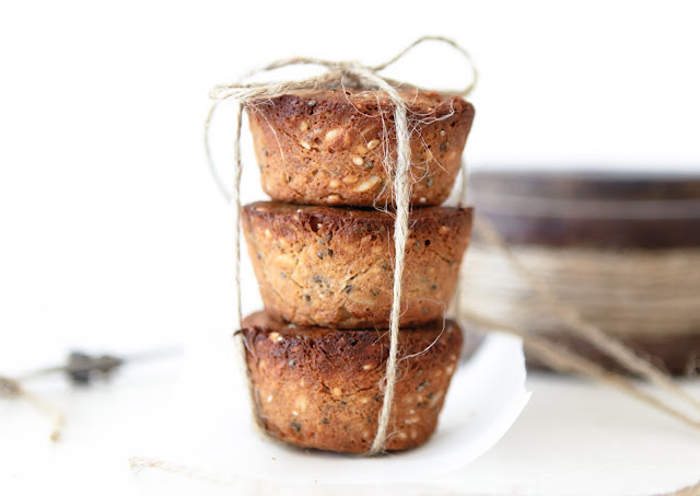 Paleo Moon Cake (Mixed Nuts and Seeds)