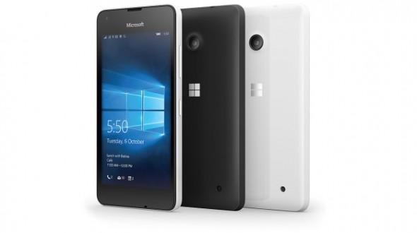 Microsoft Lumia 550 With Windows 10