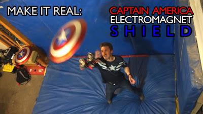 [Video] Penemu Ini Sukses Membuat Tameng Elekromagnet Captain America