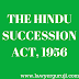 THE HINDU SUCCESSION ACT1956