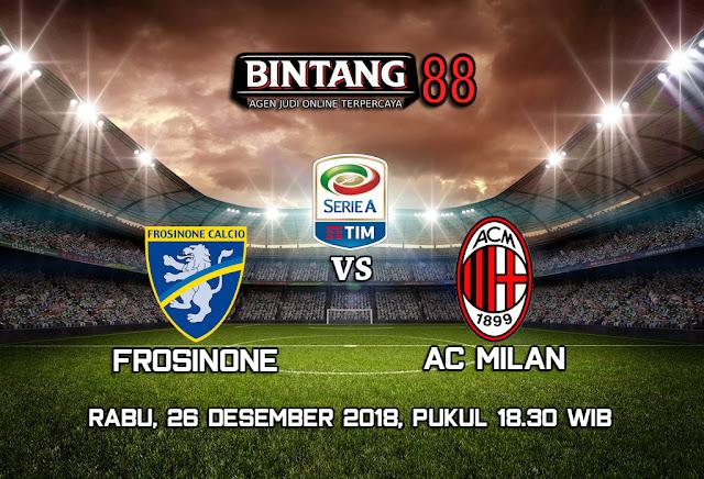 Prediksi Frosinone vs AC Milan 26 Desember 2018