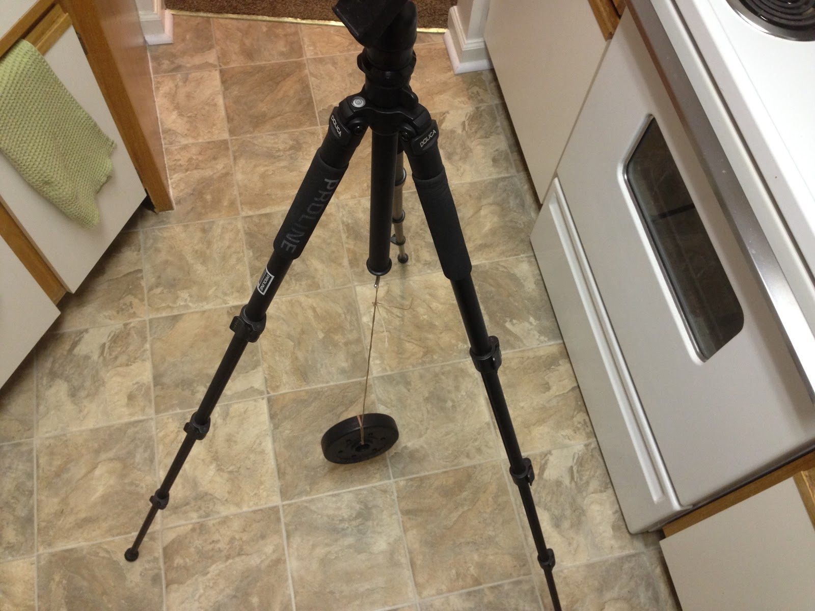 add weight to tripod