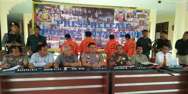 Polisi tangkap 5 Orang Pembunuh Orangutan yang Mati Tertembus 130 Peluru