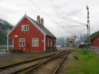 Norwegian Gods shed