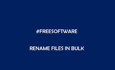 It is imperative that proper naming of files is important to make good used of search fea Best Free Windows Software For Renaming Files In Bulk