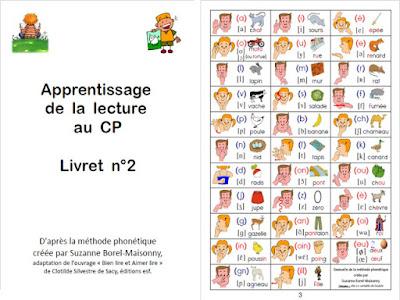 تعلم الحروف والقراءة للمستويين الثالث والرابع Apprentissage de la lecture au CP