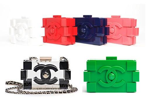 186dc7b04 Estilo da Cris: Bolsa Chanel Lego