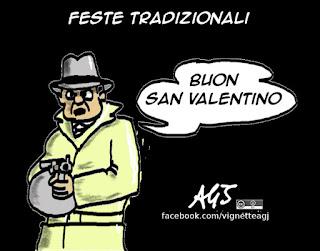 san valentino, umorismo, vignetta