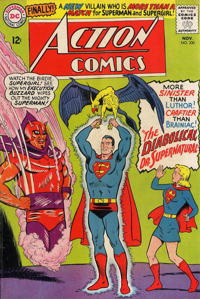Episode #389 Part IV: Superman Comic Book Cover Dated November 1965: Action Comics #330!