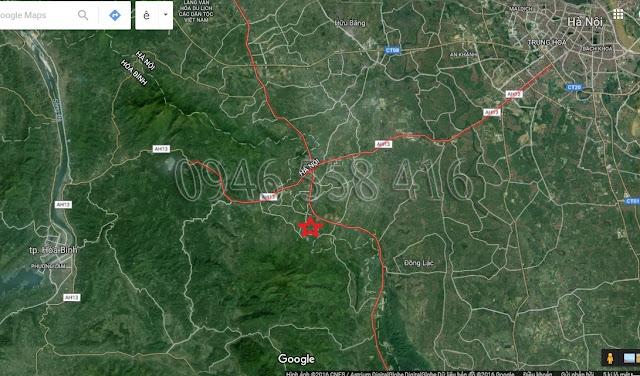 dự án eco valley hồ đồng chanh nằm tại huyện lương sơn tỉnh hòa bình