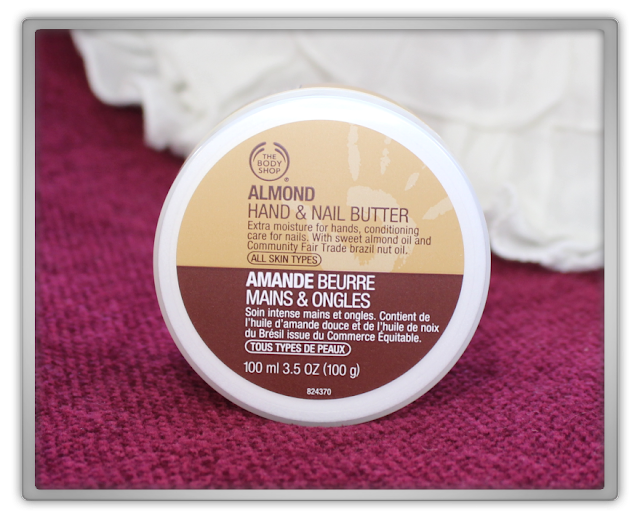 The Body Shop Haul Review blog beauty blogger almond  hand & nail butter soft moisture conditioning