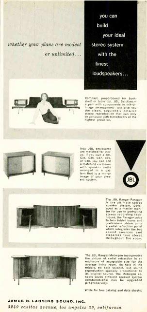 JBL 1959 Advert