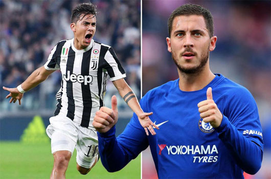 """""""Bom tấn"""" mùa đông: Real bạo chi 225 triệu bảng mua Dybala, Hazard"""