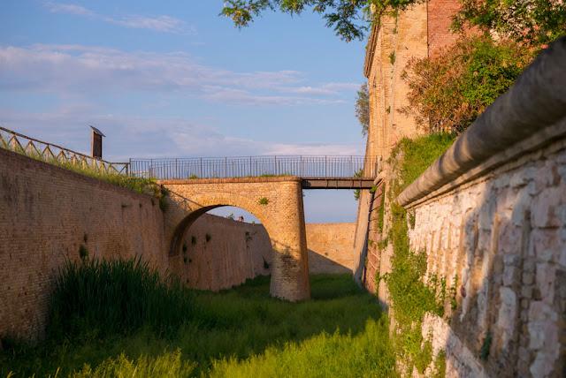 Forte Altavilla — Fossé
