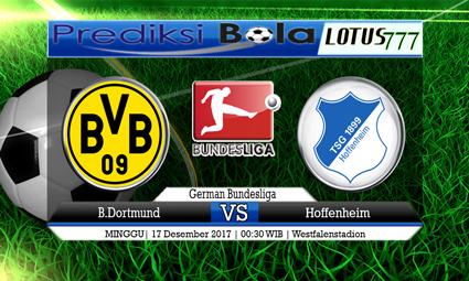 PREDIKSI SKOR B.Dortmund vs Hoffenheim 17 Desember 2017