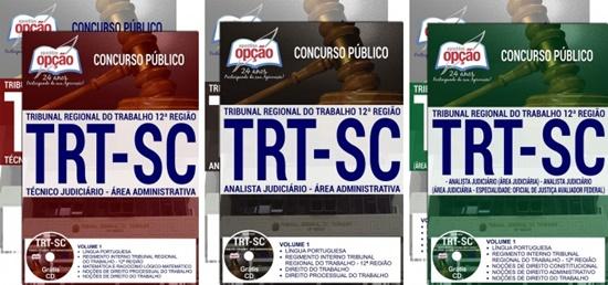 Apostila concurso TRT-SC 12ª região 2017