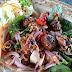 นกน้อยชวนชิม ซีฟู๊ด รสเด็ด @ ครัวป่าชายเลน บางปะกง...Sea food Dish