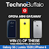 Win one of three phones (16GB Apple iPhone 6.32GB Samsung Galaxy S6.Lumia 1520) International Giveaway