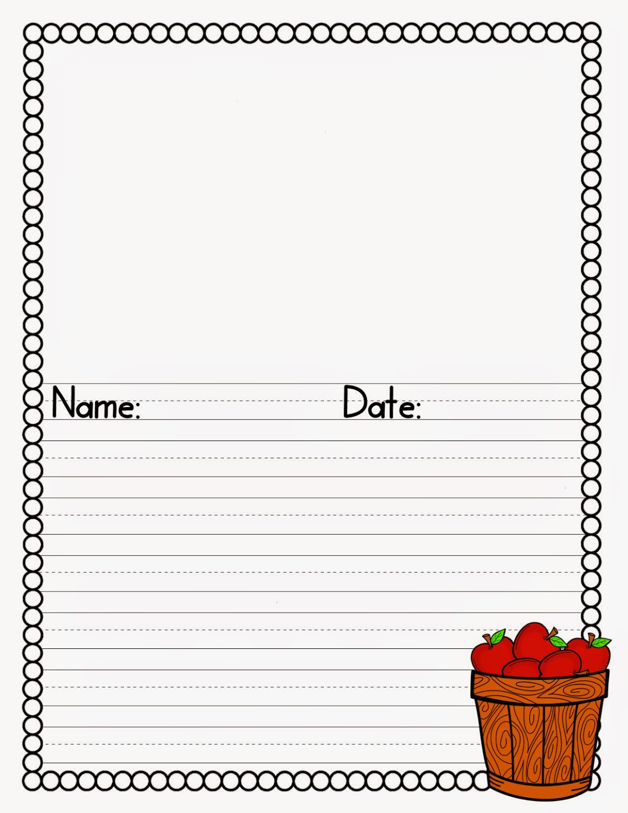 http://www.teacherspayteachers.com/Product/Apple-Writing-1428198