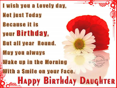 birthday wishes for daughter from dad