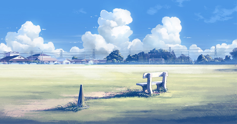 Painting Makoto Shinkai Style Anime Background From Photo