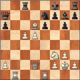 Partida ajedrez Jan Travesset – Nicolás Jiménez, II Memorial Arturo Pomar Salamanca 2017, Sub-12, posición después de 25.d5!