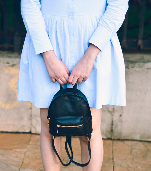 Mini Black Backpack Forever 21