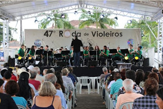 Banda Maestro João Gonçalves de Araújo se apresentou na 47° Roda de Violeiros da cidade de Registro-SP