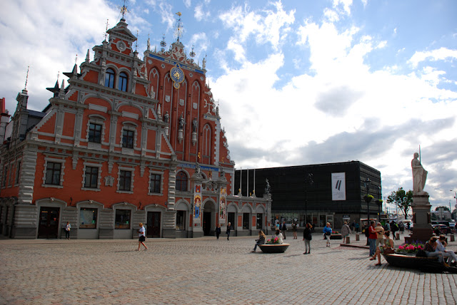 Riga, oldtown, old town