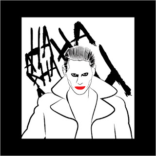 Joker Jared Leto Free Download Vector CDR, AI, EPS and PNG Formats