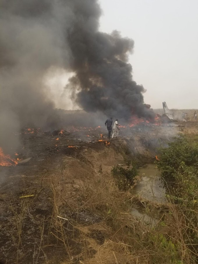 BREAKING: People Feared Dead As Plane Crashes In Abuja Moments ago