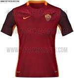 Berita bocoran jersey As Roma home terbaru musim 2015/2016
