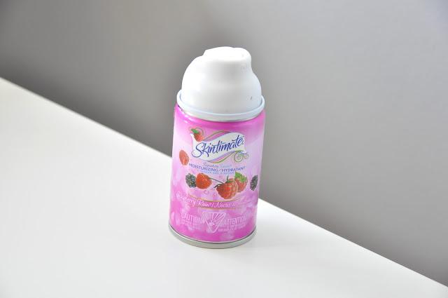 pianka-żel do golenia skintimate signature scents moisturizing shave gel