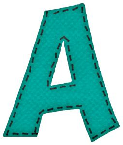 Alfabeto en Fieltro.