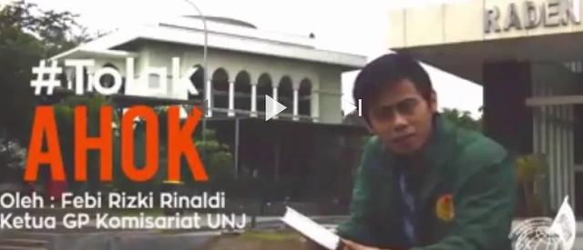 Kader di UI Minta Maaf Soal Tolak Ahok, Gema Pembebasan Rilis Video di UNJ dan UIN