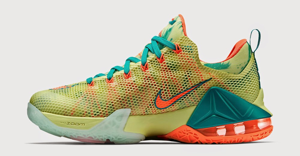 outlet store 0df0a 19af8 Nike LeBron 12 Low LeBronold Palmer White Lime-Bright Mango For Sale Nike  Lebron 12 Low ...