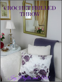 CROCHET  THROW WITH FRILLS