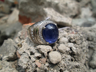 natural blue safir murah