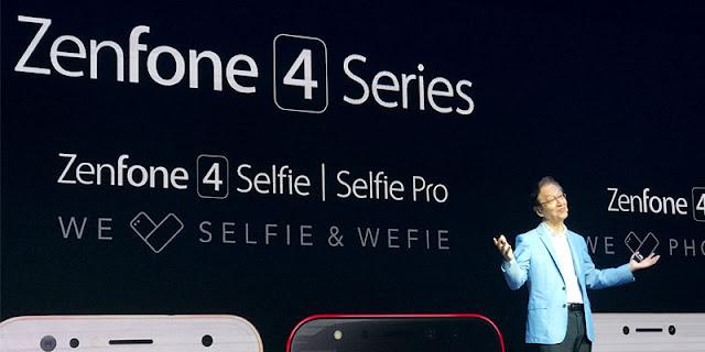 Spesifkasi dan Harga Asus Zenfone 4, Spesifikasi Zenfone 4 Selfie dan Harga Zenfone 4 Selfie Pro