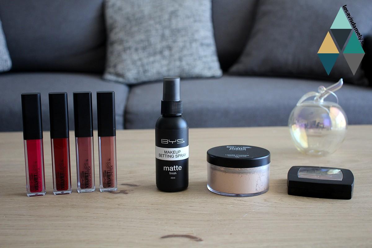 test makeup à petit prix BYS