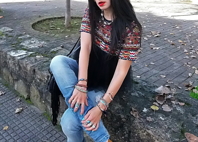 fashion, moda, look, outfit, blog, blogger, walking, penny, lane, streetstyle, style, estilo, trendy, rock, boho, chic, cool, casual, ropa, cloth, garment, inspiration, fashionblogger, art, photo, photograph, Avilés, asturias, zara, stradivarius, bershka, jeans, tulle, tul