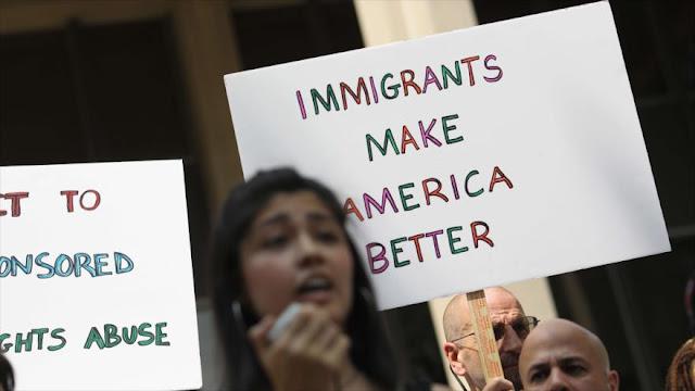 Protestan en EEUU para repudiar separación de familias migrantes