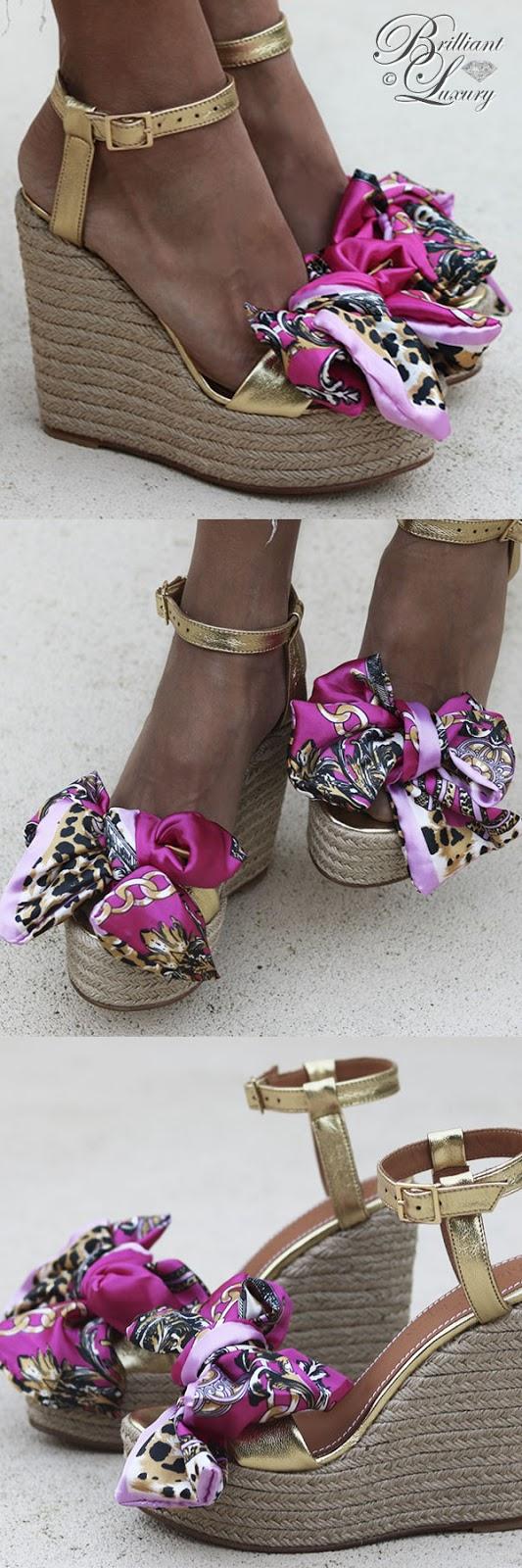 Brilliant Luxury ♦ Alameda Turquesa Pink Paradise bow weges