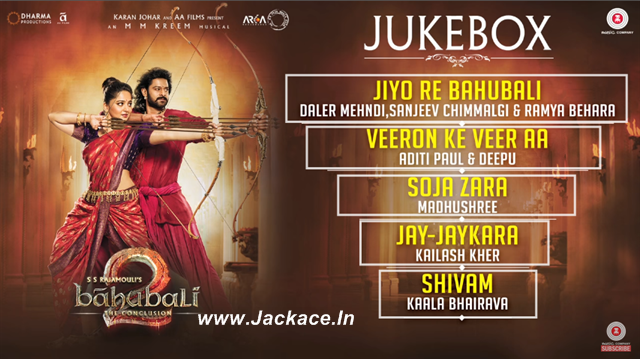 Check Out The Complete Audio Jukebox Of Baahubali 2: The Conclusion [Hindi Version]