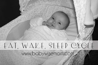 Why do an eat, wake sleep pattern for Babywise.