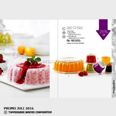Jell O Set ~ Katalog Tupperware Promo Juli 2016